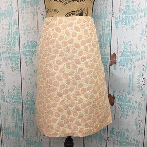 Merona size 14 floral skirt